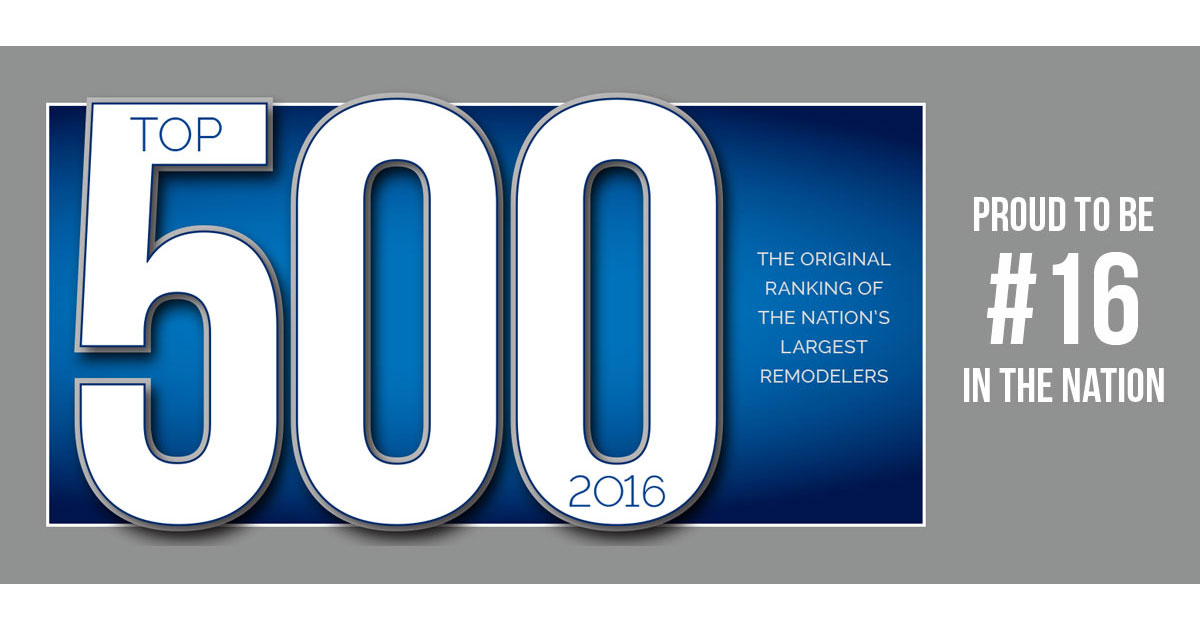 Universal windows direct ranks no 16 on top 500 qualified for Replacement window rankings