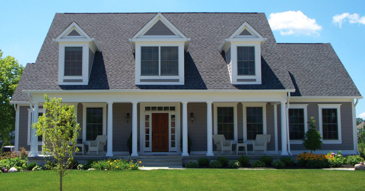 What are the best window styles for a cape cod home for Best windows for new house