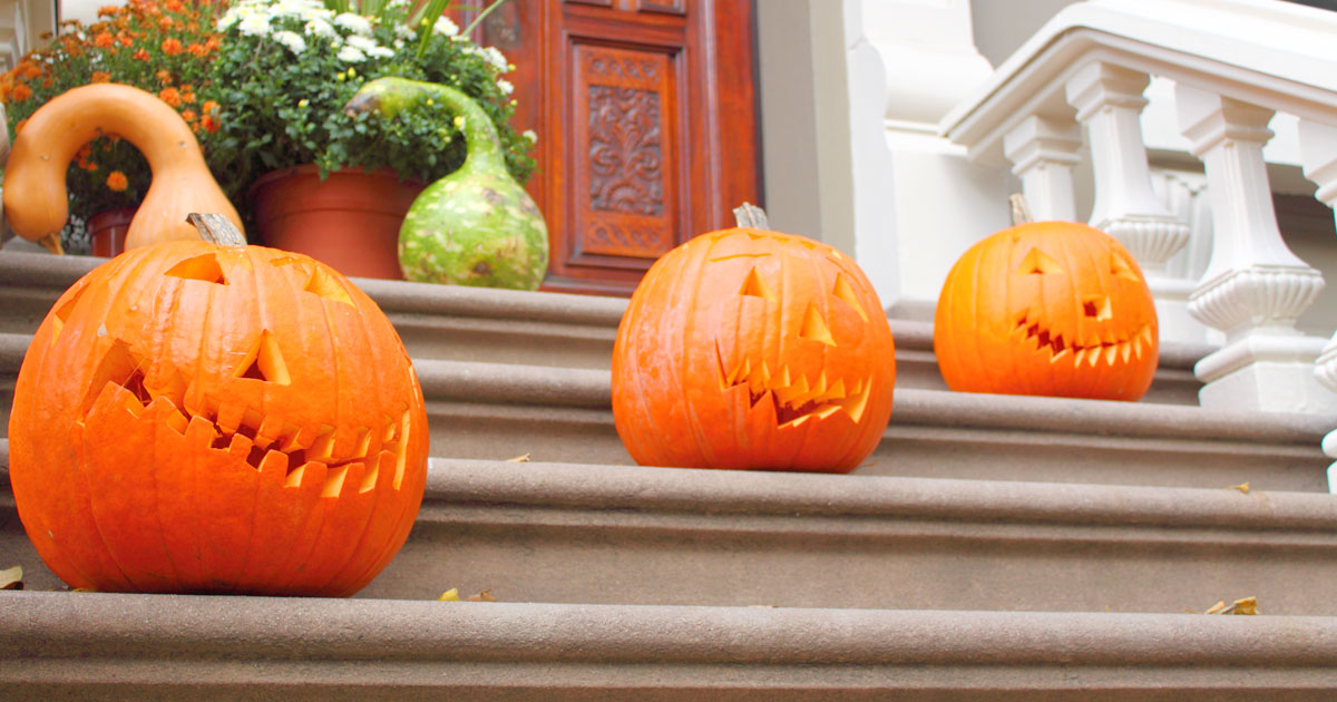 Perk Up Your Porch With Pumpkins