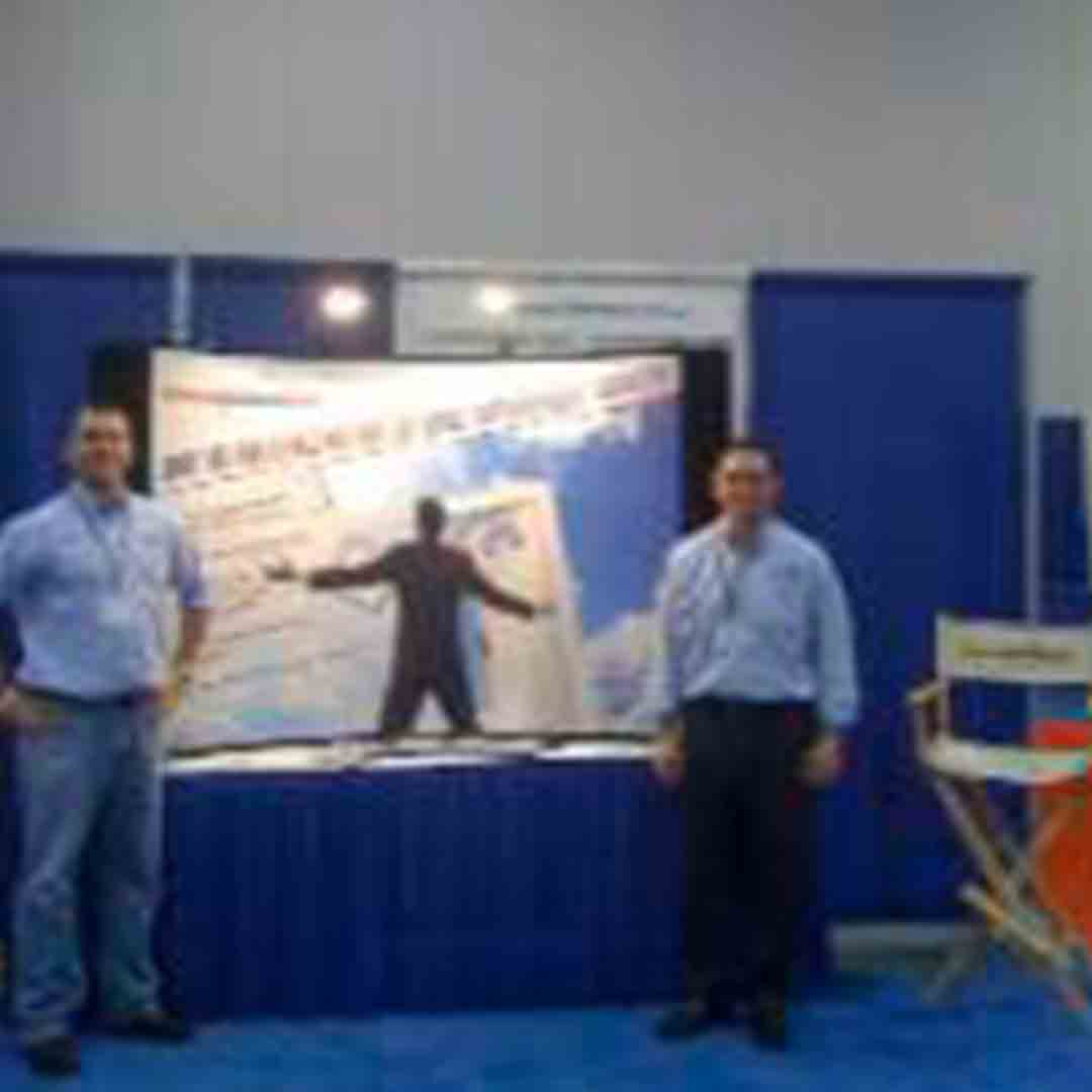 Bill and Mike at a Franchise Show